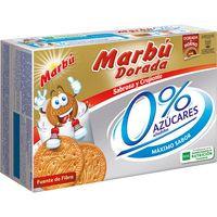 Marbú Galletas doradas 0 % azúcares 400g