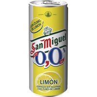 San Miguel Cerveza 0,0% limón lata 33cl