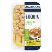 Broqueta de llagostí a l'allada AGUINAMAR, safata 145 g