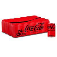 Coca Cola Zero llauna pack 33cl x 24