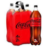 Coca Cola Zero ampolla pack 4x2l