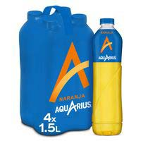 Aquarius Naranja botella 4x1,5l