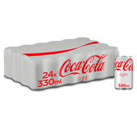 Coca Cola Light lata 33cl x 24
