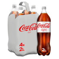 Coca Cola Light botella pack 4x2l