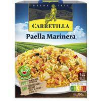 Carretilla Paella marinera 250g