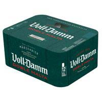 Voll Damm Cerveza lata 12x33cl