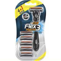 Bic Flex 3 maquinilla desechable 4+1u