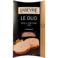 LabeyrieBloc de Foie gras d'oca e2x40g