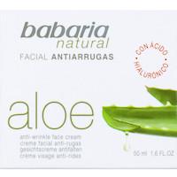 Babaria Crema anti-arrugas aloe vera 50ml