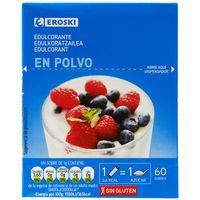 Eroski Edulcorante granulado 60 sobres