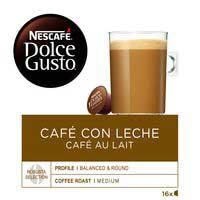 Nescafe Dolce Gusto café con leche 16 cápsulas