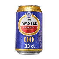 Amstel Cerveza 0,0 alcohol lata 33cl