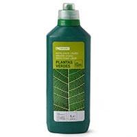 Eroski Fertilizante plantas verdes 1l.