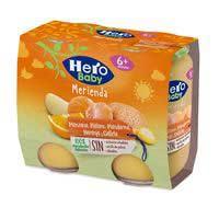 Hero Baby Berenar mandarina/poma i galeta  2x190g