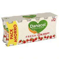 Danacol de fresa Danone 12x100ml