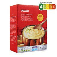 Eroski Basic Puré patates 500g