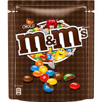 M&M Pouch chocolate 220g