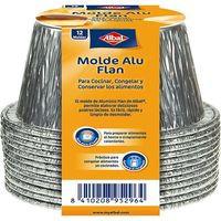 Albal Molde de aluminio flan 12u