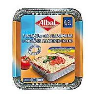 Albal Motlle d'alumini multiús 1-2 porcions 3u