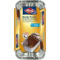 Albal Motlle d'alumini pastís amb tapa 1l 3u