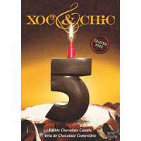 Xoc & Chic Velas chocolate Nº 5