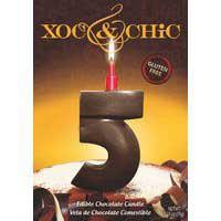 Xoc & Chic Vela chocolate Nº 5
