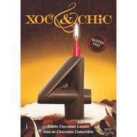 Xoc & Chic Velas chocolate Nº 4