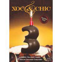 Xoc & Chic Velas chocolate Nº 3