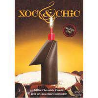 Xoc & Chic Velas chocolate Nº 1
