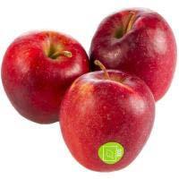 Manzana roja ecológica, al peso, compra mínima 1 kg