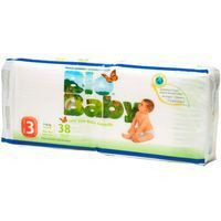 Moltex Bio Baby Pañal ecológico talla 3 de 7-10kg 34u