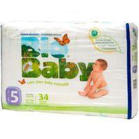 Moltex Bio Baby Bolquer ecològic talla 5 de 12-16 kg 31u