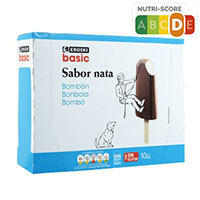 Eroski Basic Bombó nata 10u 750ml