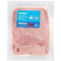 Eroski Basic Jamón cocido extra 250g