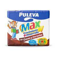Puleva Max Llet energia i cremiento amb cereals i cacau 3x200ml