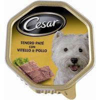 Paté de pollo para perro CÉSAR, tarrina 150 g