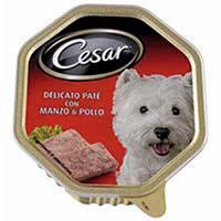 Cesar Dinar de gos bou paté terrina 150g