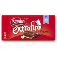 Nestlé Extrafino Tres chocolates 120g