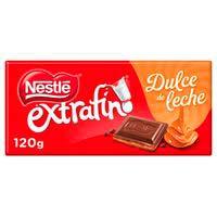 Nestlé Extrafino Chocolate con dulce de leche 120g