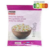 Eroski Basic Arroz tres delicias 1kg