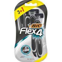 Bic Flex 4 maquineta d'un sol ús 3+1u