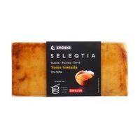 Torró de crema Eroski SELEQTIA, tauleta 300 g