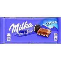 Milka Xocolata farcit de Oreo 100g