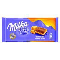 Milka Chocolate con caramelo 100g