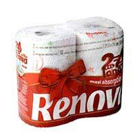 Rollo de cocina de Navidad RENOVA, paquete 2 rollos