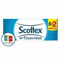 Scottex Mocadors 8 + 2u