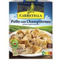 Carretilla Pollo con champiñones 250g