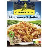 Carretilla Macarrons bolonyesa 350g