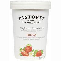 Pastoret Iogurt amb maduixes 500g