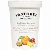 Pastoret Yogur con melocotón y maracuyá 500g